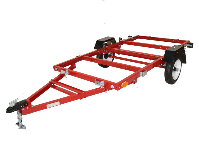 Foldable Trailers Genuine Original 8 X 4 Folding Trailer